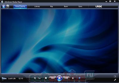 скриншот  Windows Media Player 11 RU